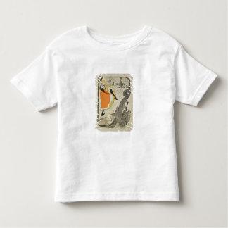 Wiedergabe einer Plakatwerbung 'Jane Avril T-Shirts