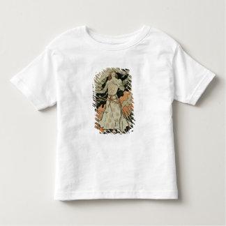 Wiedergabe einer Plakatwerbung 'Joan of Arc Kleinkind T-shirt