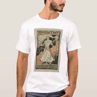 Wiedergabe einer Plakatwerbung 'Joan of Arc T-Shirt