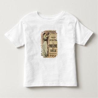 Wiedergabe einer Plakatwerbung 'La Parisienn Hemd