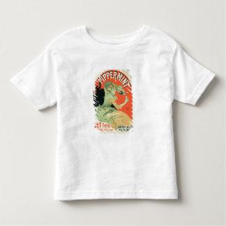 """Wiedergabe einer Plakatwerbung """"Pippermint"""", Kleinkind T-shirt"""