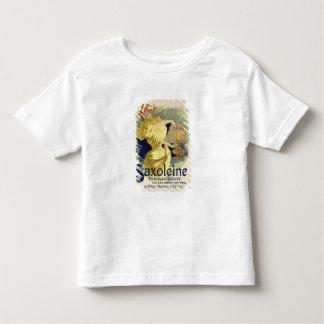 """Wiedergabe einer Plakatwerbung """"Saxoleine"""", Tshirt"""