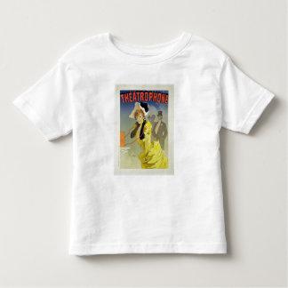 Wiedergabe einer Plakatwerbung 'Theatrophone Hemd