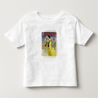 Wiedergabe einer Plakatwerbung 'Theatrophone T Shirt