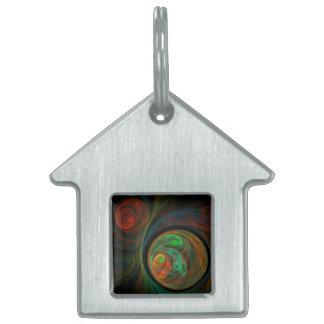 Wiedergeburt-grünes abstraktes Kunst-Haus Tiermarke