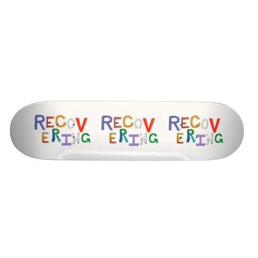 Wiederherstellung der flippigen Wortkunst des heil Skateboarddecks