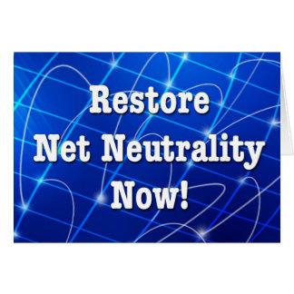 Wiederherstellungs-Nettoneutralität jetzt! Karte