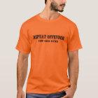 Wiederholen Sie Straftäter T-Shirt