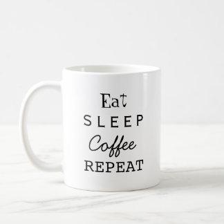 Wiederholung Kaffeetasse