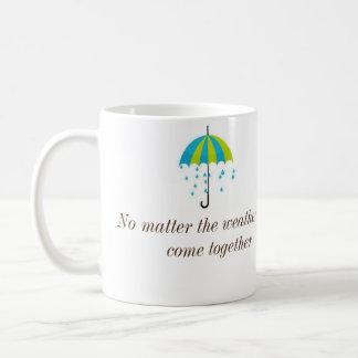 Wiedervereinigen Sie sich Kaffee-Tasse Tasse
