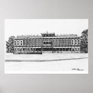 Wiedervereinigung-Palast Poster