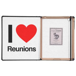 Wiedervereinigungen der Liebe I Etui Fürs iPad