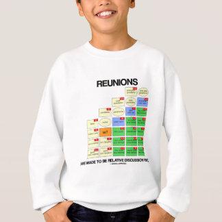 Wiedervereinigungen werden gemacht, um relative sweatshirt