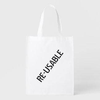 Wiederverwendbar Wiederverwendbare Einkaufstasche
