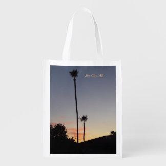 Wiederverwendbare Tasche 1 Sun City Wiederverwendbare Einkaufstaschen