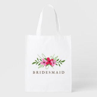Wiederverwendbare Tasche - Blumentag Einkaufsbeutel