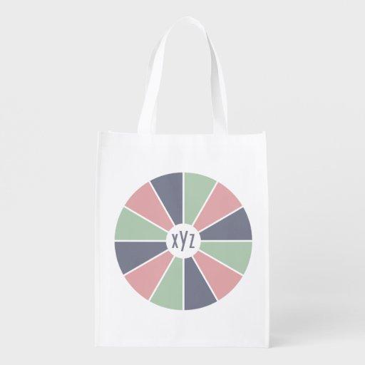 Wiederverwendbare Tasche des kundenspezifischen Einkaufsbeutel
