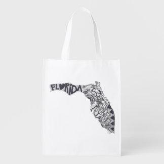 Wiederverwendbare Tasche Floridas Wiederverwendbare Einkaufstasche