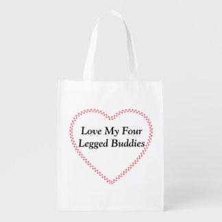 Wiederverwendbare Tasche Liebe meine Wiederverwendbare Einkaufstasche