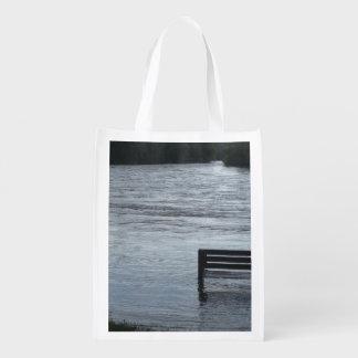 Wiederverwendbare Tasche Schwan-Fluss MB Wiederverwendbare Einkaufstasche