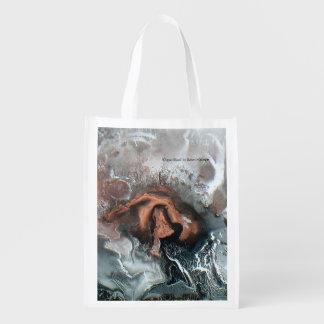 Wiederverwendbare Taschen-grüne Erde freundlich Wiederverwendbare Einkaufstasche