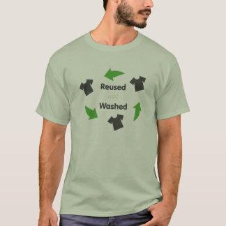 Wiederverwendet nicht gewaschen T-Shirt