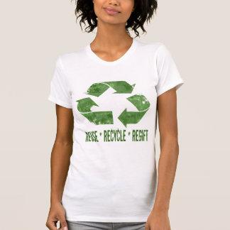 Wiederverwendung, recyceln, Regift T-Shirts