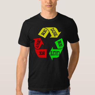 Wiederverwendung Reduse recyceln Shirt
