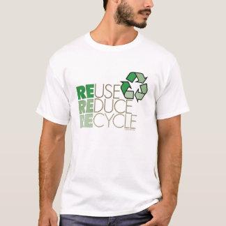 Wiederverwendung verringern recyceln T - Shirt