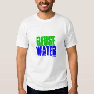 WIEDERVERWENDUNG, WASSER, idator Shirts