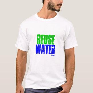 WIEDERVERWENDUNG, WASSER, idator T-Shirt