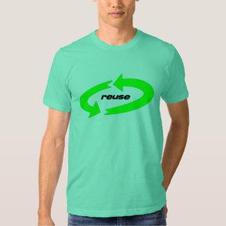 Wiederverwendung, Wiederverwendungstext Shirt