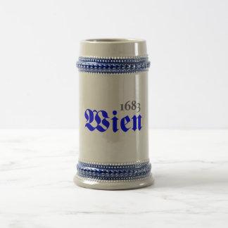 Wien 1683 bierglas