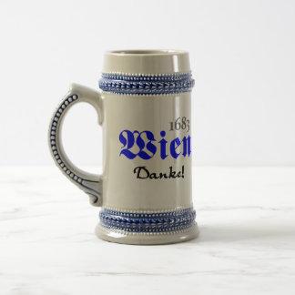 Wien 1683 - Danke Bierglas