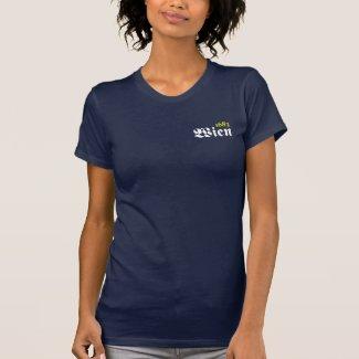 Wien 1683 | Frauen Jersey Kurzarm T-Shirt (navy)