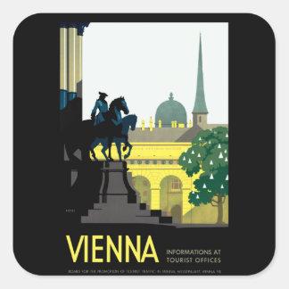 Wien Aufkleber