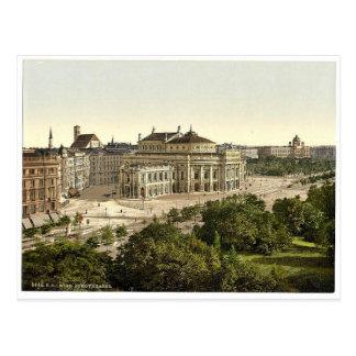 Wien. Burgtheater seltenes Photochrom Postkarte