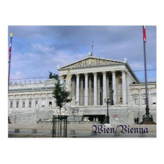 Wien, das Parlament Postkarte