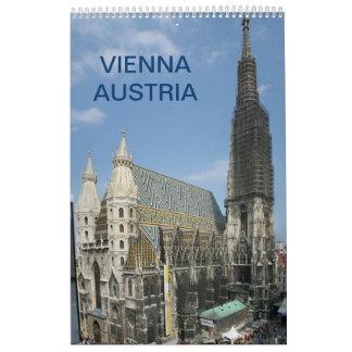 Wien Österreich 2018 Abreißkalender