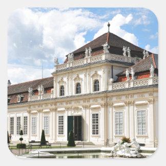 Wien, Österreich Quadratischer Aufkleber