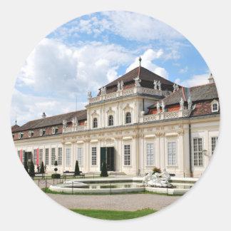 Wien, Österreich Runder Aufkleber