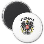 Wien, Österreich Runder Magnet 5,1 Cm