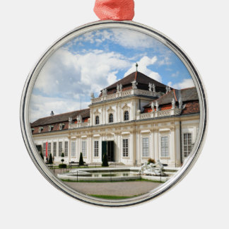 Wien, Österreich Silbernes Ornament