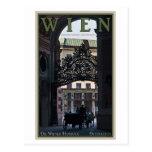 Wien - Pferdewagen Postkarte