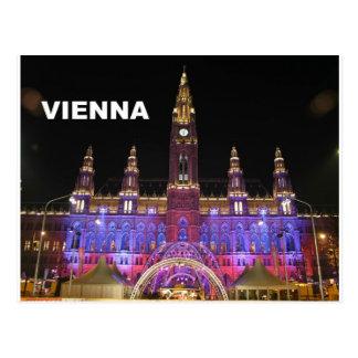 Wien Rathaus Eistraum (St.K) Postkarte