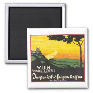 Wien Reise-Plakat Kühlschrankmagnete