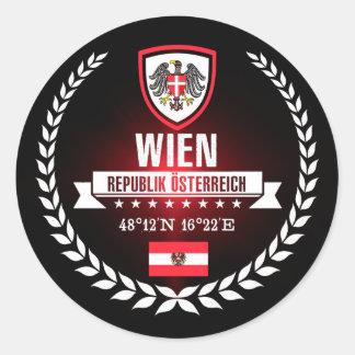 Wien Runder Aufkleber