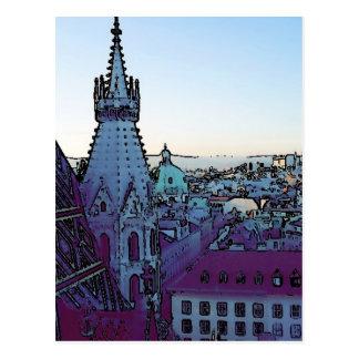 Wien-Stadt, toony (a) Postkarte