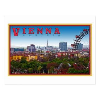Wien - Stadtbild Postkarte