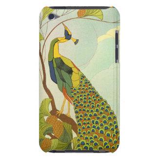 Wiener Kunst Nouveau Pfau Barely There iPod Hüllen